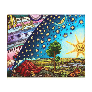 Flammarion Dome Canvas Print