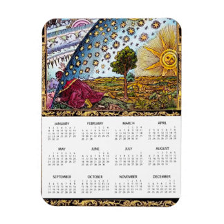 Flammarion Dome Magnet calendar 2017