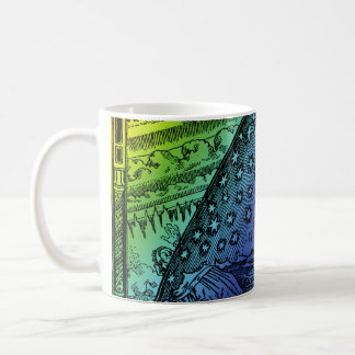 Flammarion Heaven and Earth Engraving Coffee Mug