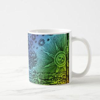 Flammarion Heaven and Earth Engraving Coffee Mug