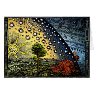 Flammarion Print Luke 2 Bible Verse Christmas Card