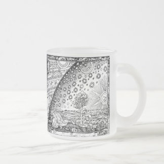Flammarions Wanderer 10 Oz Frosted Glass Coffee Mug
