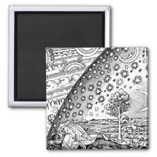 Flammarions Wanderer 2 Inch Square Magnet