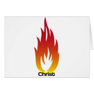 Flamme de Cristo Felicitacion