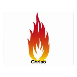 Flamme de Cristo Postal