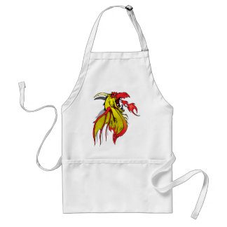 Flamming Dragon Adult Apron