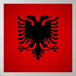 Flamuri i shqiperise poster
