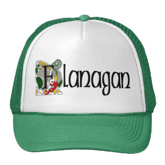 Flanagan Celtic Dragon Cap Trucker Hat
