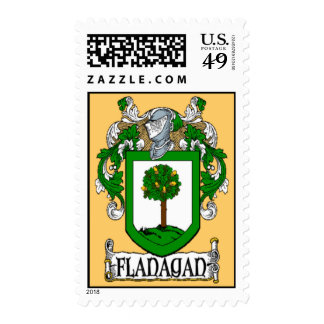 Flanagan Coat of Arms Postage Stamps