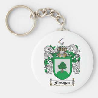 FLANAGAN FAMILY CREST -  FLANAGAN COAT OF ARMS KEYCHAIN
