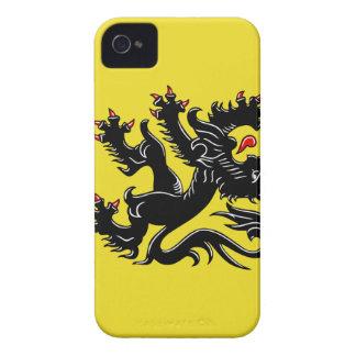 Flanders (Belgium) Flag iPhone 4 Cases
