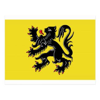 Flanders (Belgium) Flag Postcard