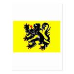 Flanders Region Flag Post Cards