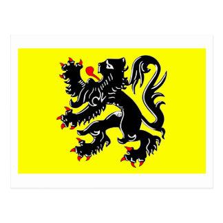 Flanders Region Flag Postcard