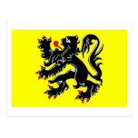 Flanders Region Flag Postcards