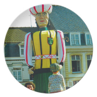 Flanders tradition, Parade of the Giants Party Plates