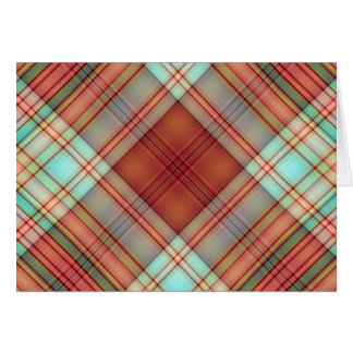 Flannel Design Greeting Cards