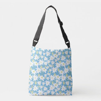 Flannel Flower Tote Bag