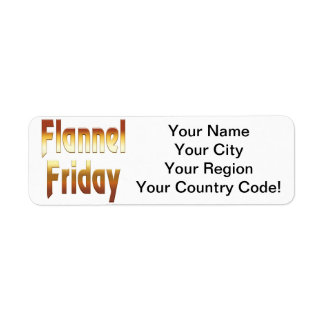 Flannel Friday Gold Label