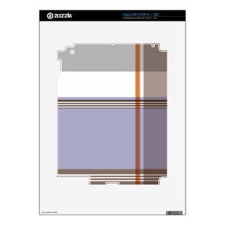 Flannel Pattern Skin For The iPad 2