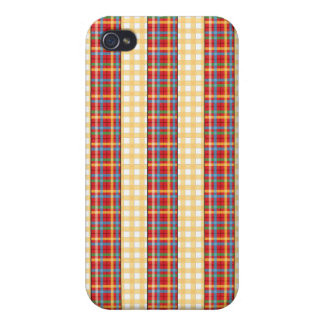 Flannel patterns on patterns covers for iPhone 4