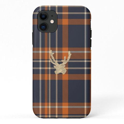 Flannel Reindeer iPhone case