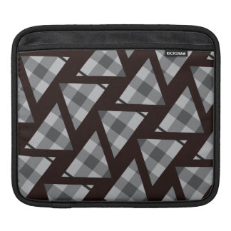 Flannel Triangle Pattern Sleeves For iPads