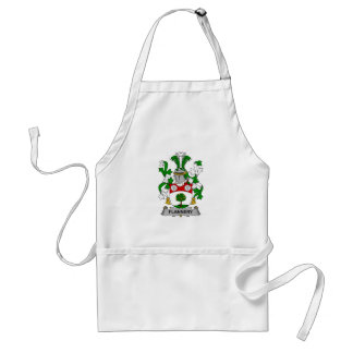 Flannery Family Crest Adult Apron