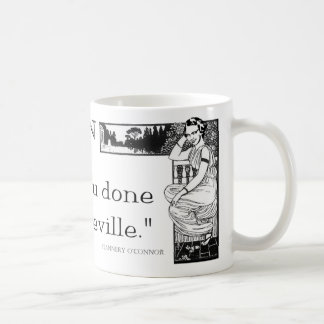 "Flannery O'Connor ""When In Rome"" Mug"