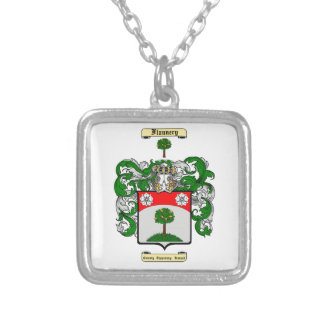 Flannery Square Pendant Necklace