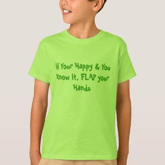 Flap your Hands - Autism Diversity T-Shirt