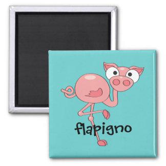 Flapigno 2 Inch Square Magnet