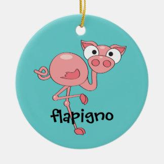 Flapigno Ceramic Ornament