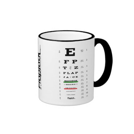 Flapjack Eye Exam Mug