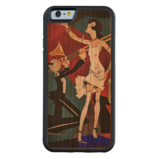 Flapper and a Jazz Band Carved® Cherry iPhone 6 Bumper Case
