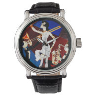 Flapper and a Jazz Band Wristwatches