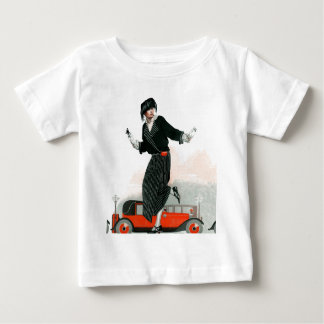 Flapper and Roadster Baby T-Shirt