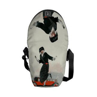 Flapper and Roadster Messenger Bag