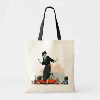 Flapper and Roadster Tote Bag