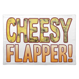 Flapper Blue Cheesy Placemat