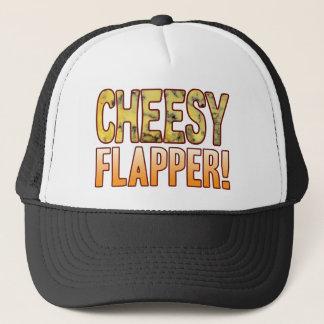 Flapper Blue Cheesy Trucker Hat