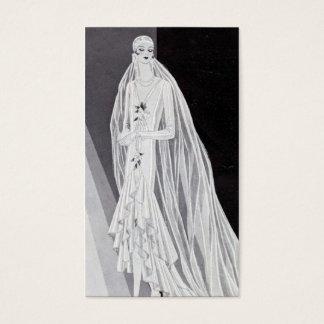 Flapper Bride Business Card