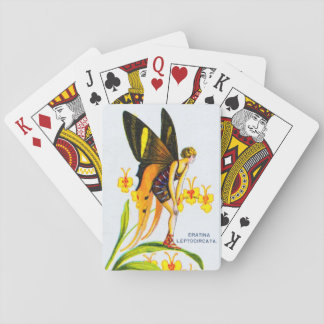 Flapper Butterfly Playing Cards