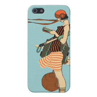 Flapper Case For iPhone SE/5/5s