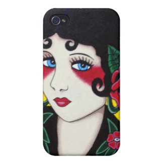 Flapper Chic iPhone 4/4s Speck Case iPhone 4 Cover