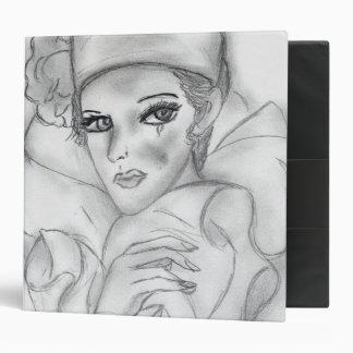 Flapper Doll Binder