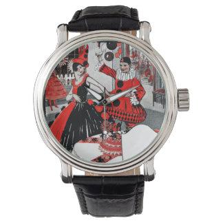 Flapper Era Costume Party Wristwatch