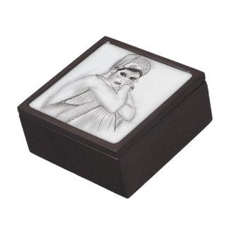 Flapper Girl Gift Box