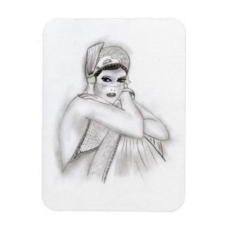Flapper Girl Magnet