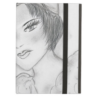 Flapper Girl with Bells iPad Air Case